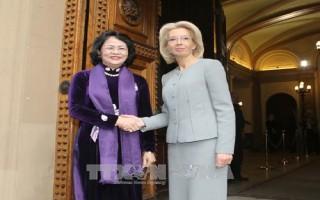 Thúc đẩy hợp tác nhiều mặt giữa Việt Nam và Latvia