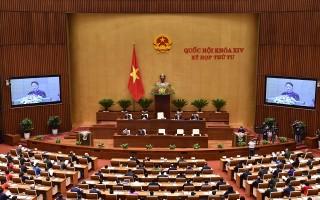 Toàn cảnh khai mạc kỳ họp thứ 4, Quốc hội khóa XIV