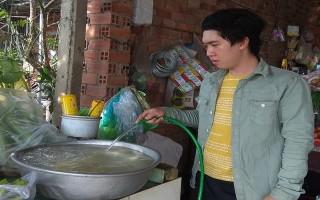 Để người dân được sử dụng nước sạch đạt quy chuẩn