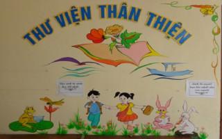 Thư viện thân thiện cho trẻ em tiểu học