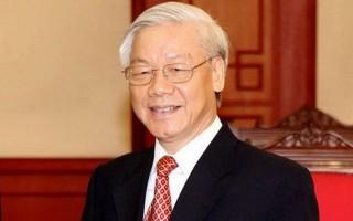 Tổng Bí thư Nguyễn Phú Trọng gửi Điện mừng tới ông Tập Cận Bình