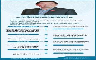 [Infographic] - Chân dung tân Bộ trưởng Bộ Giao thông Vận tải