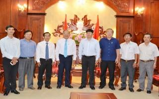 Tiếp Uỷ viên Tổng liên Hội, Mục vụ Tin Lành tỉnh Tây Ninh