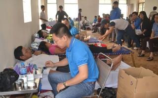 Huyện Dương Minh Châu: Tiếp nhận trên 1.500 đơn vị máu hiến