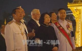 Phó Chủ tịch nước dự lễ hỏa táng cố Nhà Vua Bhumibol Adulyadej