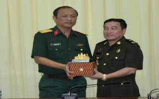 Cục Phát triển Bộ Quốc phòng Campuchia thăm Tây Ninh