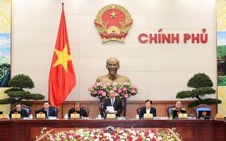 Thủ tướng chủ trì phiên họp Chính phủ tháng 10/2017