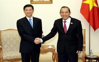 Phó Thủ tướng Thường trực tiếp Thứ trưởng Bộ An ninh Trung Quốc