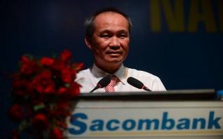 Ông Dương Công Minh tiếp tục rót tiền vào cổ phiếu Sacombank