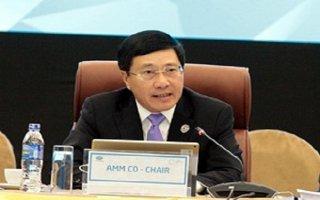 Phó Thủ tướng chủ trì họp báo về kết quả Hội nghị AMM 29