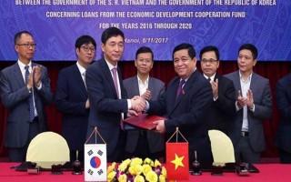 Hàn Quốc tài trợ Việt Nam 1,5 tỷ USD vốn ODA giai đoạn 2016 - 2020
