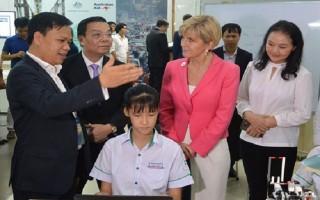 Australia hỗ trợ Việt Nam 10 triệu USD đổi mới sáng tạo