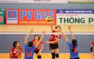 Khởi động vòng chung kết, xếp hạng giải bóng chuyền vô địch quốc gia PVGas 2017