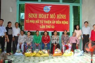 Hội LHPN Việt Nam thăm, làm việc tại Gò Dầu