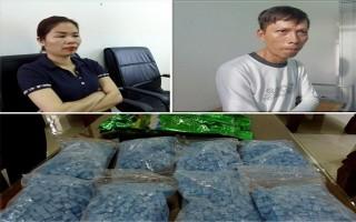 Bắt vụ vận chuyển hơn 8.000 viên ma túy tổng hợp