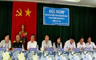 Chủ tịch UBND tỉnh tiếp xúc 40 cử tri thành phố Tây Ninh