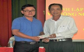 Thành lập HTX dịch vụ nông nghiệp Thạnh Tây