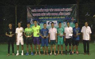 Tây Ninh: Tổ chức giải quần vợt mở rộng, tranh cúp HADA