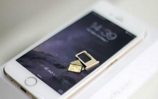 Xuất hiện loại sim ghép mới cho iPhone bị khoá mạng ở Việt Nam