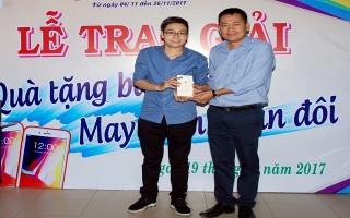 Co.opmart Tây Ninh trao thưởng tri ân khách hàng.