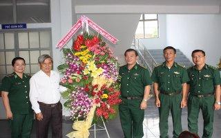 Bộ Chỉ huy BĐBP tỉnh Tây Ninh chúc mừng Ngày Nhà giáo Việt Nam