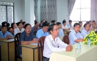 Tổ chức bồi dưỡng kiến thức về bảo vệ môi trường văn hóa, du lịch