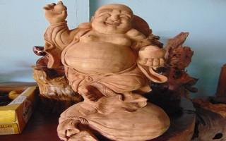 Thăng hoa tượng gỗ