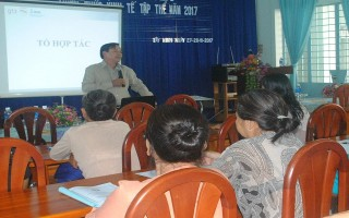 Tập huấn kiến thức kinh tế tập thể cho phụ nữ