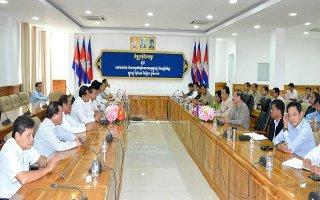 Hội đàm, trao đổi thông tin hợp tác giữa hai tỉnh Tây Ninh - Tbong Khmum