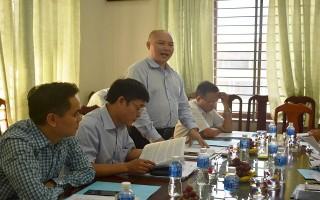 Đoàn kiểm tra Bộ Nội vụ làm việc với Sở Nội vụ Tây Ninh