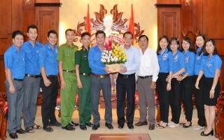 Gặp mặt Đoàn đại biểu Tây Ninh tham dự Đại hội Đoàn toàn quốc lần thứ XI