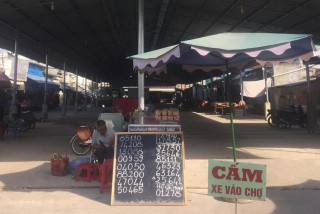 Chợ Hiệp Ninh: Xây xong nhưng chưa cho tiểu thương kinh doanh