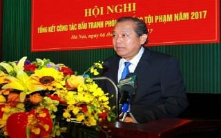 Phó Thủ tướng Trương Hòa Bình dự tổng kết công tác chống tội phạm của Bộ đội Biên phòng