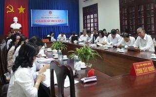 Tập huấn Bộ Luật hình sự năm 2015 trong ngành Toà án