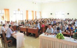 Tiếp xúc, đối thoại về xây dựng Đảng, chính quyền với nhân dân