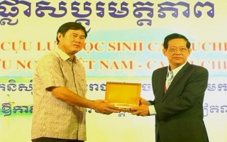 Lãnh đạo tỉnh tiếp Đoàn cựu lưu học sinh Campuchia