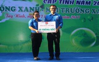 Tỉnh đoàn Tây Ninh: Ra quân Ngày chủ nhật xanh