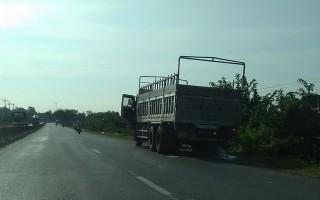 Cần quản lý chặt, xử lý nghiêm các xe tải, xe rút hầm cầu xả nước thải, chất thải trái phép