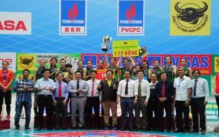 VTV Bình Điền Long An vô địch Giải bóng chuyền quốc gia PV Gas 2017