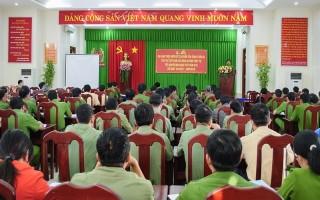 Tân Châu: Mở đợt cao điểm đảm bảo an ninh, trật tự Tết Nguyên đán 2018