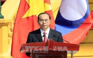 Phát biểu của Chủ tịch nước về Năm Đoàn kết Hữu nghị Việt-Lào