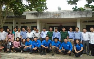 Thông tấn xã Việt Nam khu vực phía Nam về nguồn, thăm các đồn Biên phòng