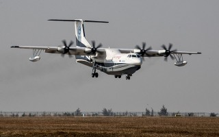Trung Quốc thử nghiệm thủy phi cơ lớn nhất thế giới, bao quát Biển Đông