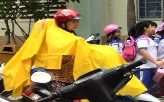 Học sinh Tây Ninh nghỉ học tránh bão