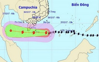 Sơ tán toàn bộ dân ra khỏi khu vực nguy hiểm của bão số 16