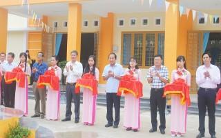 Khánh thành Trung tâm Văn hóa thể thao-Học tập cộng đồng xã Mỏ Công