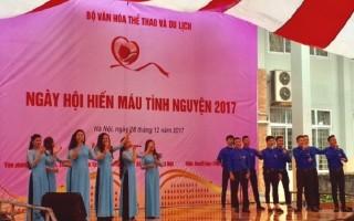 Ngày hội hiến máu tình nguyện của Bộ VHTT&DL