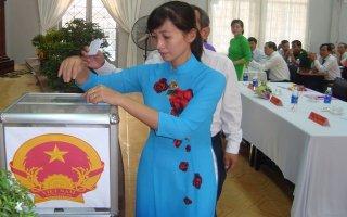 Tổ chức kỳ họp thứ 5 HĐND huyện