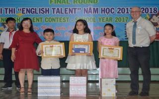 """Chung kết Hội thi """"English Talent"""" năm học 2017 – 2018"""