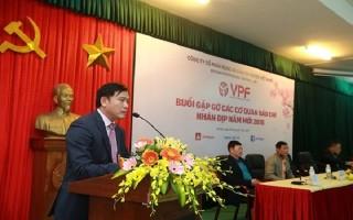 VPF đang thương thảo tìm nhà tài trợ mới cho V-League 2018